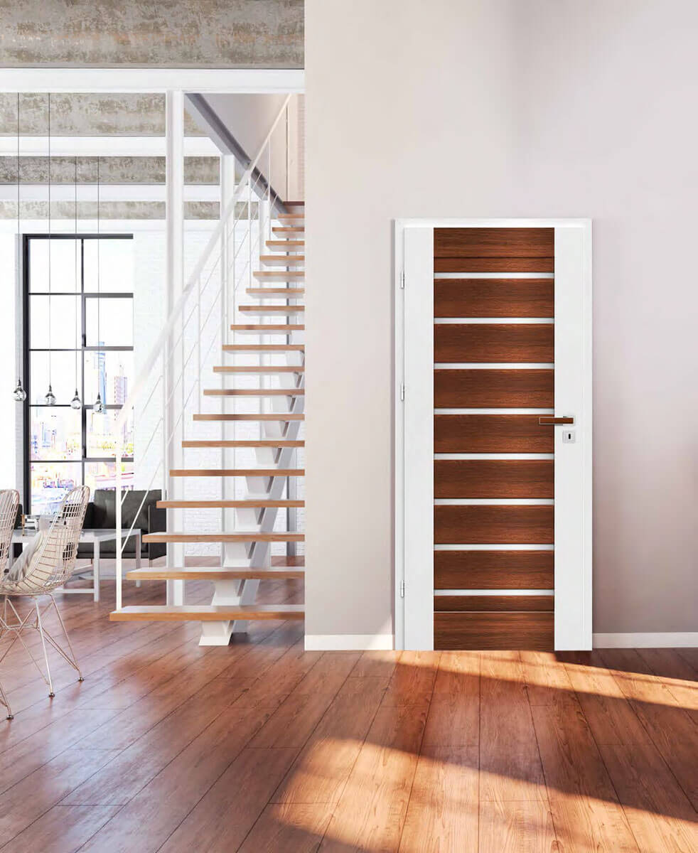... Interior Door Designs That Can Be Both Made Of MDF Boards Or Veneered.  Door Accessories Can Also Be Found In Our Offer: Fixed And Adjustable Door  Frames ...