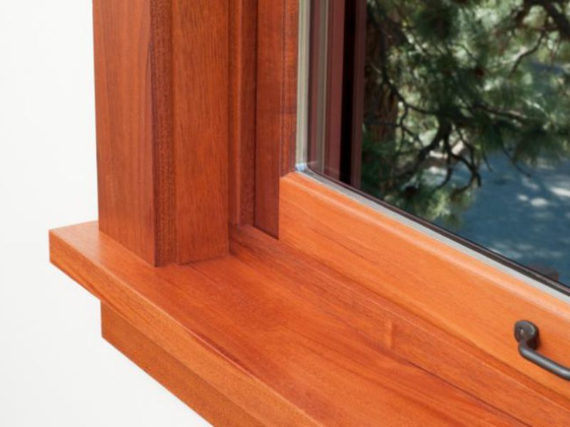 Mounting windowsills